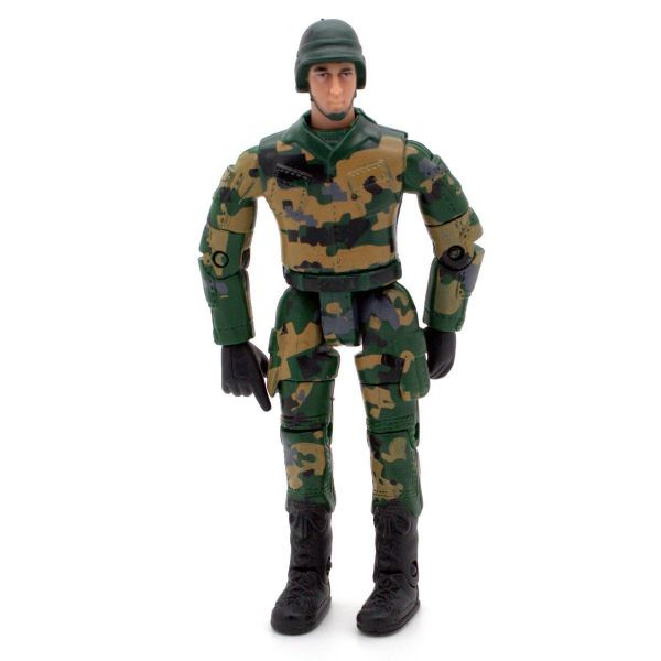 World PeaceKeepers Military Figure with Army style dirt bike 3+ Years